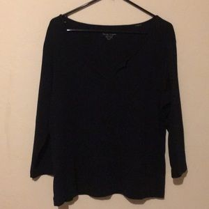 By Chico's cotton pullover top size 2